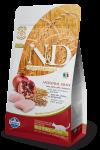 Farmina N&D Low Grain для стерилизованных кошек Chicken & Pomegranate Neutered
