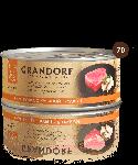 Grandorf Филе тунца с куриной грудкой, 70 г