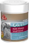 8in1 Excel Мультивитамины для взрослых собак мелких пород