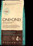 One & Only Adult Medium корм для взрослых собак всех пород с индейкой и бурым рисом.