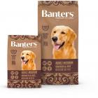 Banters Adult Medium Breeds для взрослых собак средних пород с курицей и рисом