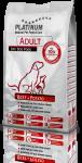 Platinum Adult Beef & Potato для взрослых собак с говядиной и картофелем