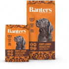 Banters Puppy Junior Large Breeds для щенков крупных пород с курицей и рисом