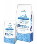 Monge Dog Speciality Light корм для собак всех пород низкокал. лосось с рисом
