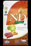 Farmina N&D беззерновой для взрослых кошек с олениной, тыквой, яблоком