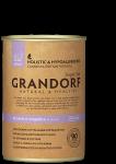 Grandorf консервы для собак. Кролик и индейка